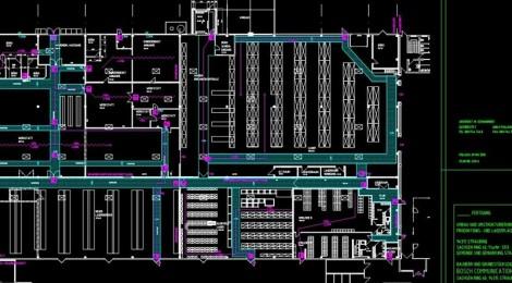 Umbau und Brandschutzmassnahmen Industriebetrieb