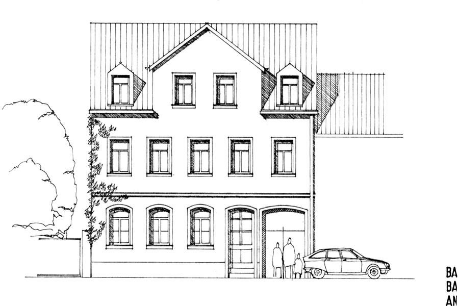 Wohnhaus Bamberg, Bestandserfassung