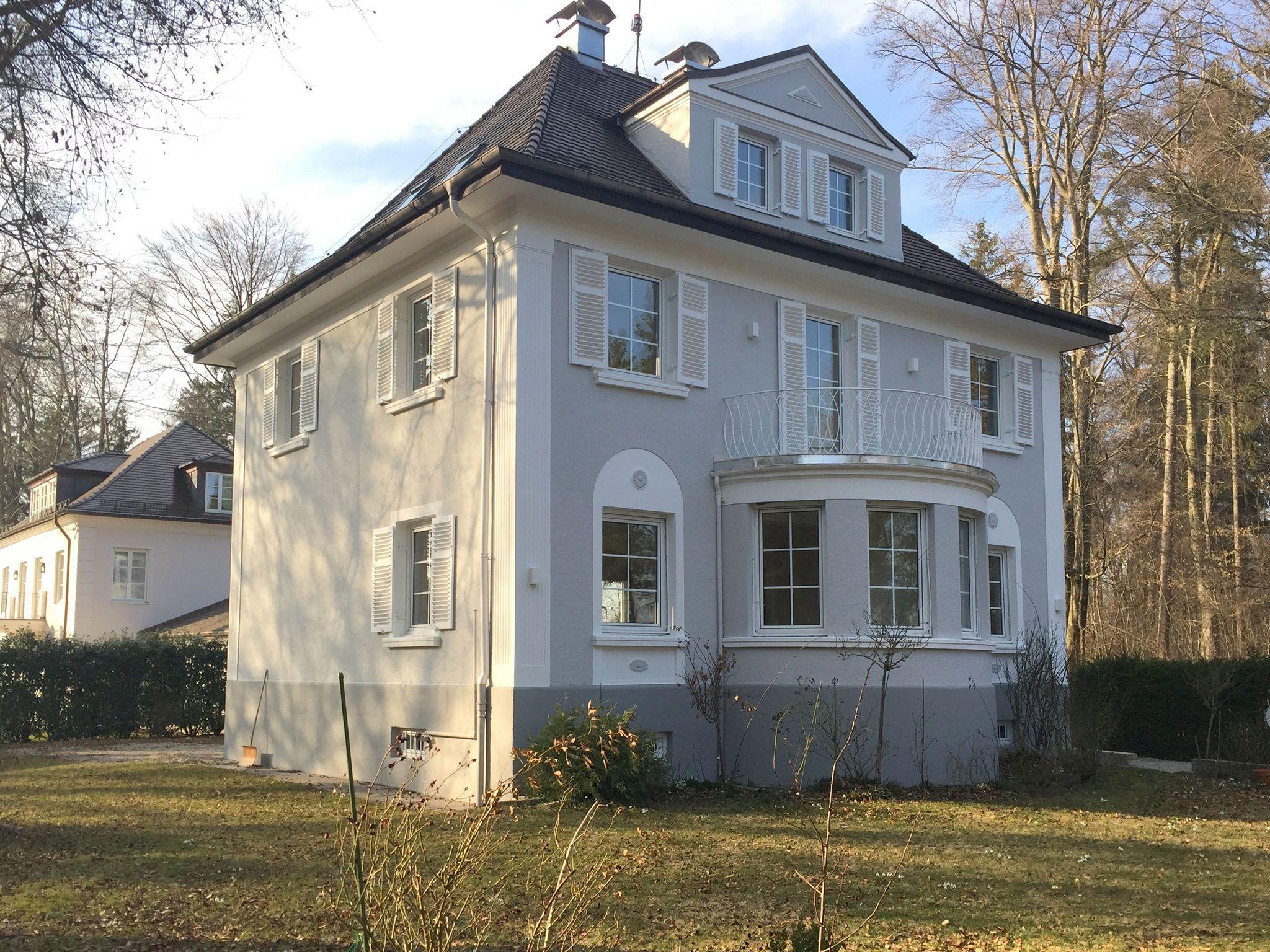 Teilsanierung Villa